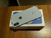 Apple-iPhone-X-256GB-Silver-Unlocked Smartphone