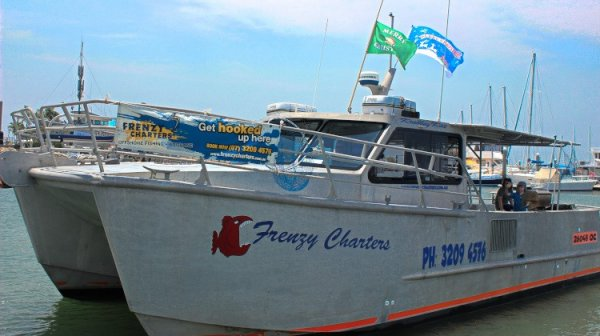 Frenzy Charters reef and game fishing