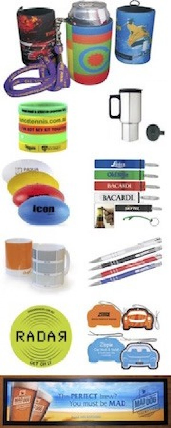Promotional products - Maddogprint