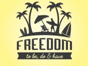 Freedom To Be Do And Have Logo